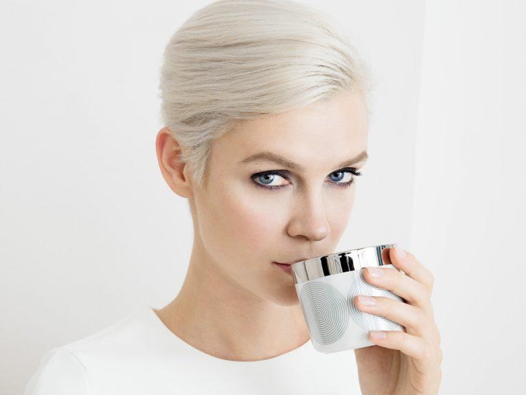 Neu: Greta  feinstes Porzellan  mit Platin veredelt