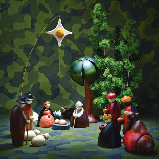 Weihnachtskrippe Björn Koehler